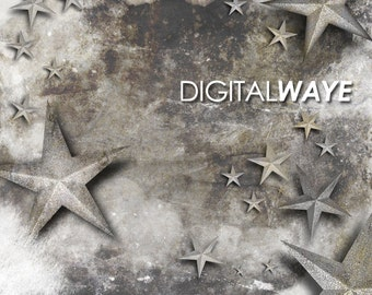 Photography Digital Star Prop Backdrop for Photographers and Graphic Designers