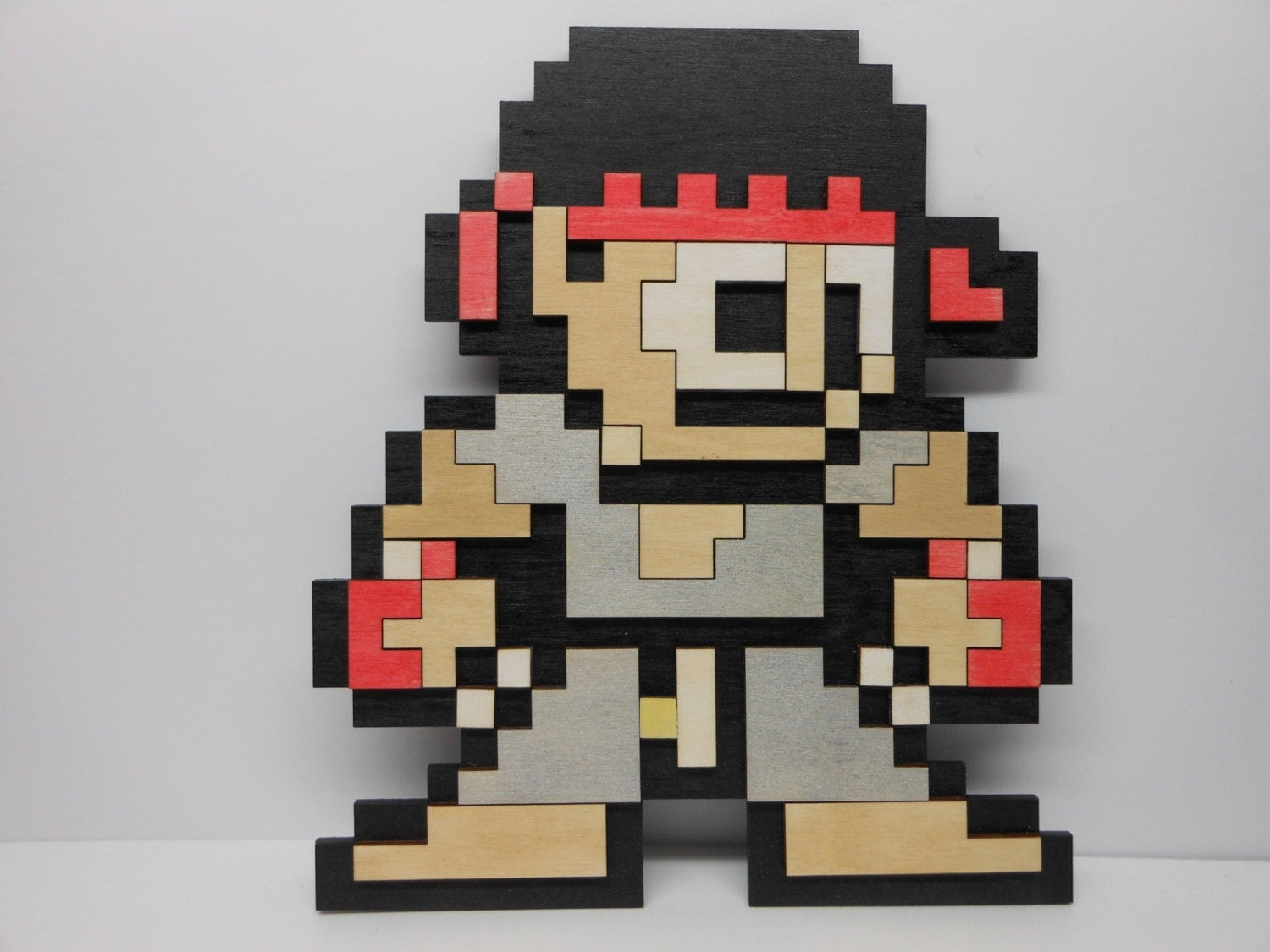 8 bit ryu from street fighter sf capcom art video game decor for 8 bit decoration