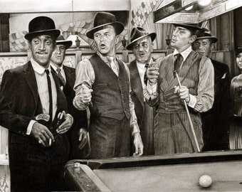 The Rat Pack - A3 Size Poster Print