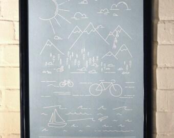Surf & Turf Poster – Artcrank 2014