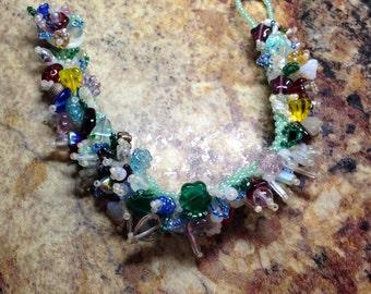 SALE 25% OFF! Mutiple Colors and Seafoam Woven Bracelet