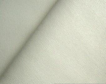 fabric PVC nappa white  bright leatherette