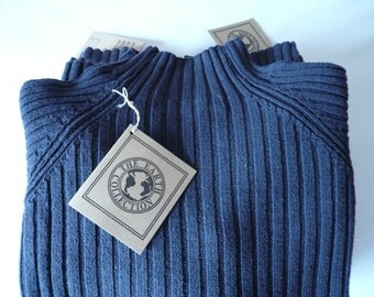Sweater - raw silk and cotton