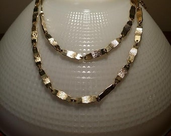 Golden necklace golden belt