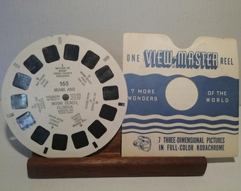 View Master Reel 165 Miami and Miami Beach Florida