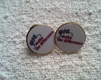 You Make the Difference! Pin