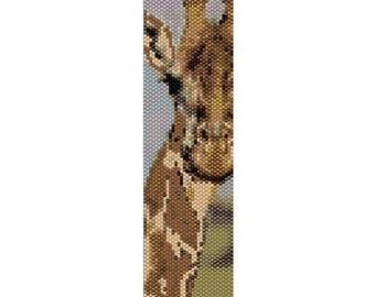 "Peyote Bracelet Pattern Giraffe ""Sushanna"""