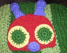 Hungry Little Caterpillar Cocoon and hat