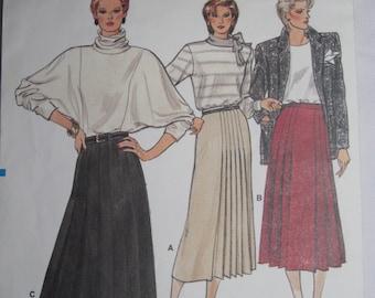 Vintage 1980's Vogue skirt Pattern