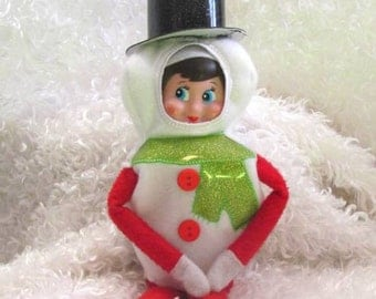 In Hoop Snowman Elf