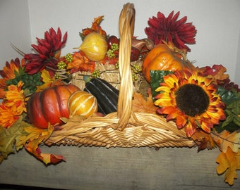 Fall Table Top Basket