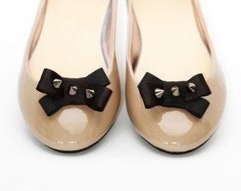 Rock&Roll Silver shoe clips