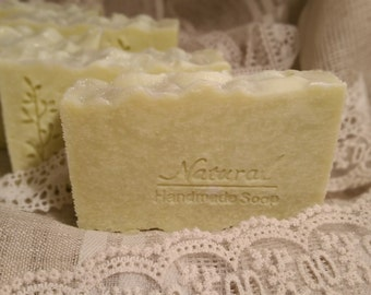 Pure Olive Oil Castile Soap. 100% Olive Oil Soap. Cold Process Soap.
