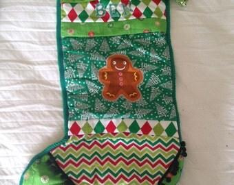 Handmade Christmas Stocking