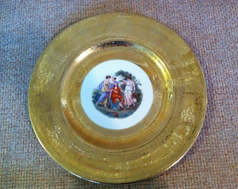 Royal China 22 Karat gold plate