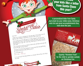 Reindeer food poem editable search results calendar 2015 for Personalized letter from santa with reindeer food