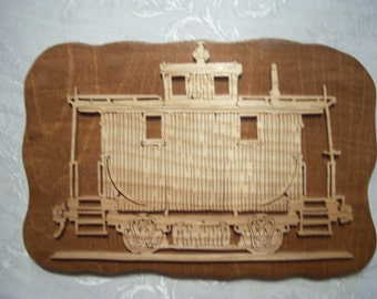 Wooden Caboose Picture
