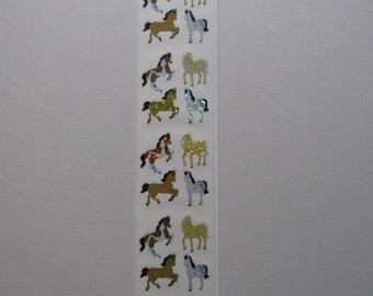Horse Scrapbooking Stickers
