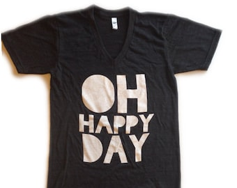 adult OH HAPPY DAY tee