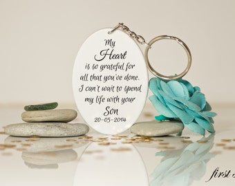 Wedding Gift For Bride From Husband : ... Law-Husband mom gift-Wedding day gifts-Mother of groom-Gift from bride