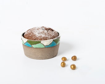 Small ceramic baking dish