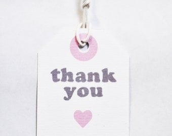 Tags Thank you (10 pieces)