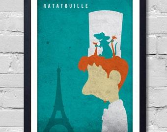 Walt Disney Pixar Ratatouille. Poster