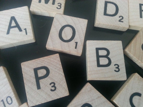 Custom Order Scrabble Tiles By SplendidSundries On Etsy