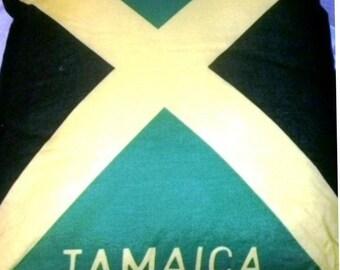 Jamaican Flag Pillow