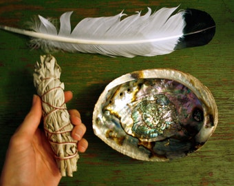 SMALL White Sage Smudge Kit