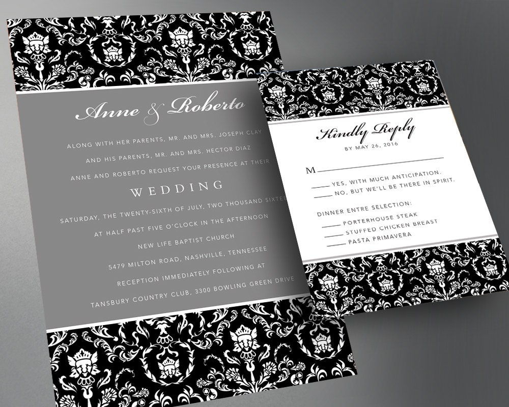Wedding invitation card sample pdf wedding invitation for Sample wedding invitations pdf