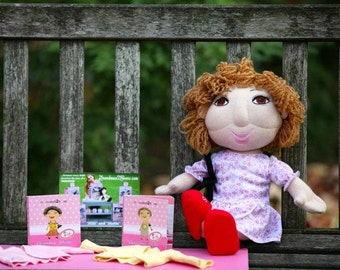"Handmade Talking Grandma Doll, ""NiNi"", 20 inch"