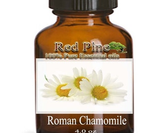 Roman Chamomile Essential Oil - Arthemis nobilis or Chamaemelum nobile - 100% Pure Therapeutic Grade