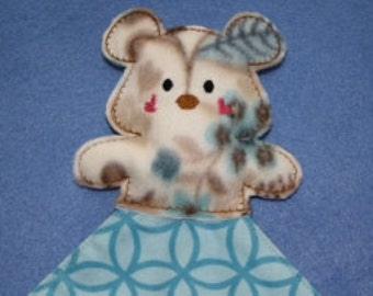 24 Hour Sale Price!!!   Teddy Bear Blanket Topper Embroidery Machine Design for the 5x7 hoop