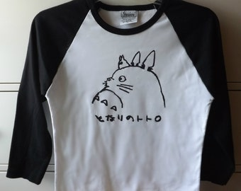 Studio Ghibli: Totoro Women's Baseball Shirt