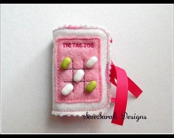 In The Hoop Tic Tac Toe Mint Freshener Holder - 5 x 7