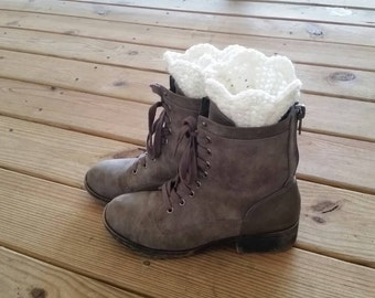 WINTER CLEARANCE 50% OFF - Scalloped Boot Cuffs