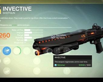 Invective   Destiny Wiki