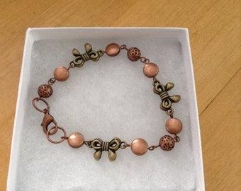Bow Bead Bracelet