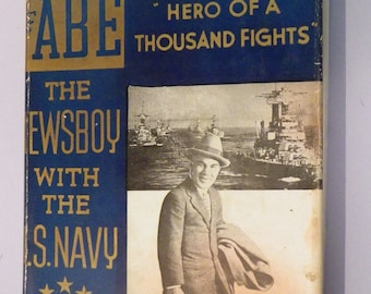 The Story of Abe The Newsboy by Abe Hollandersky