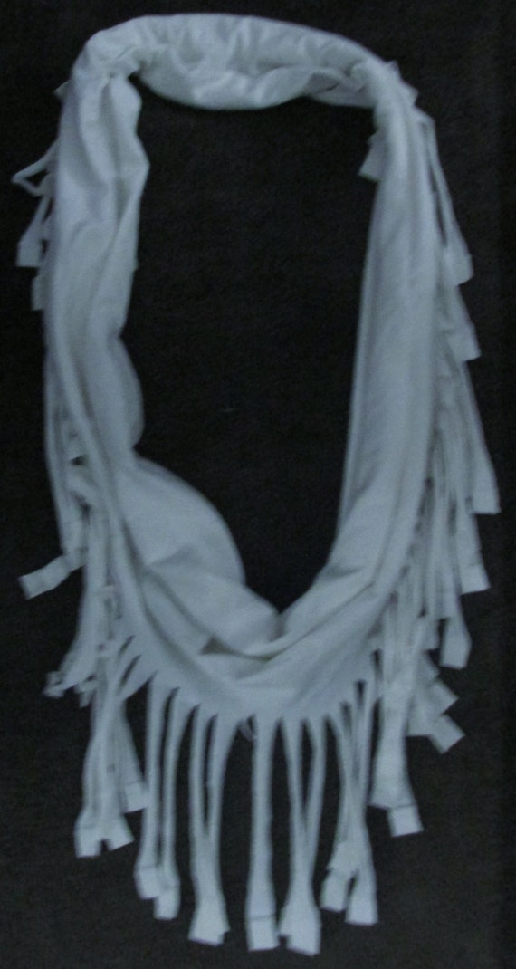 made t shirt scarf by jesslaurencreations on etsy