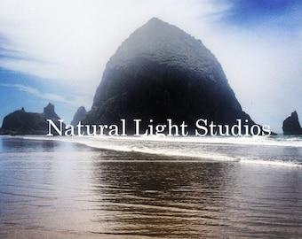 Digital Photo Download - Haystack Rock