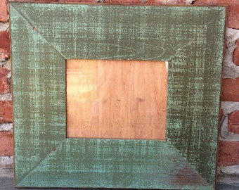 8x10 Picture frame- Reclaimed 1890s wood