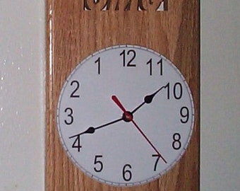 The Lefty or aka The BASSACKWARDS clock
