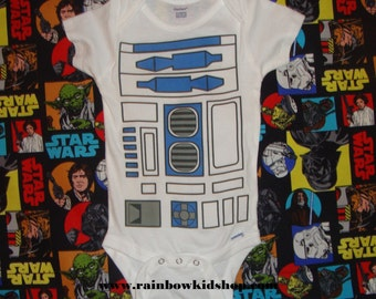 R2-D2 Onesie Bodysuit