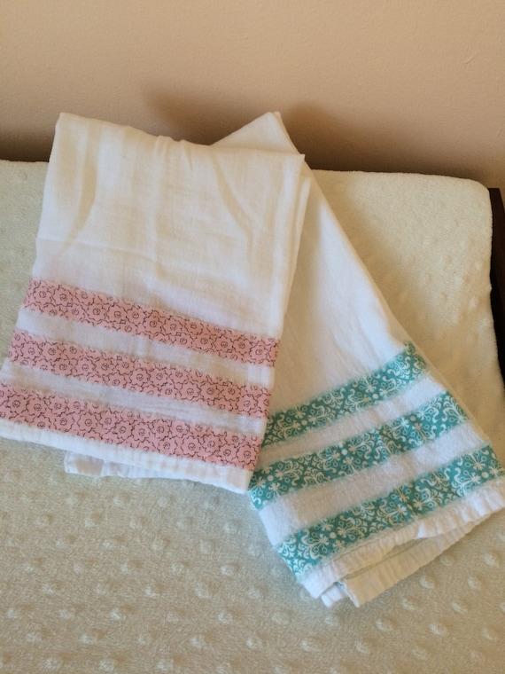 flour sack baby burp cloth by 80living on etsy