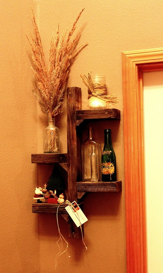 Wall Display Sconces : Rustic Display/Candle Holder/Wall Sconce