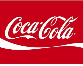Coca Cola Embroidery Design 4x4 & 5x7