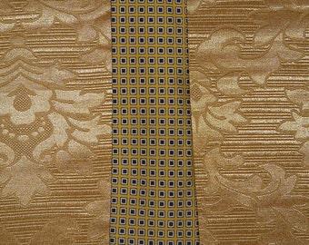Genuine vintage Fendi tie / 100% silk / vintage 80's