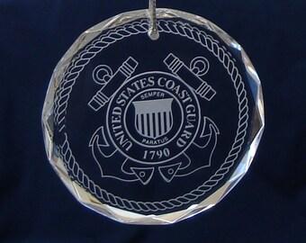 U.S. Coast Guard Ornament/Suncatcher